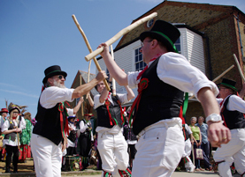 morris dancers whitstable
